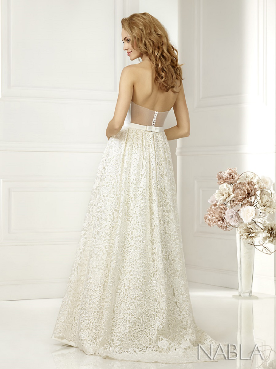 Lacey Bell Wedding Dress KAMI 2